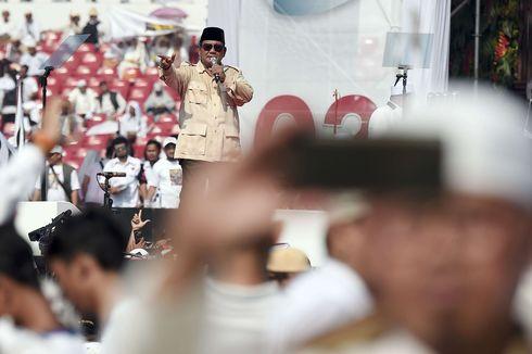 Guyonan Prabowo saat Pidato, Lelaki Minum Kopi hingga Meniru Kampanye Lawan