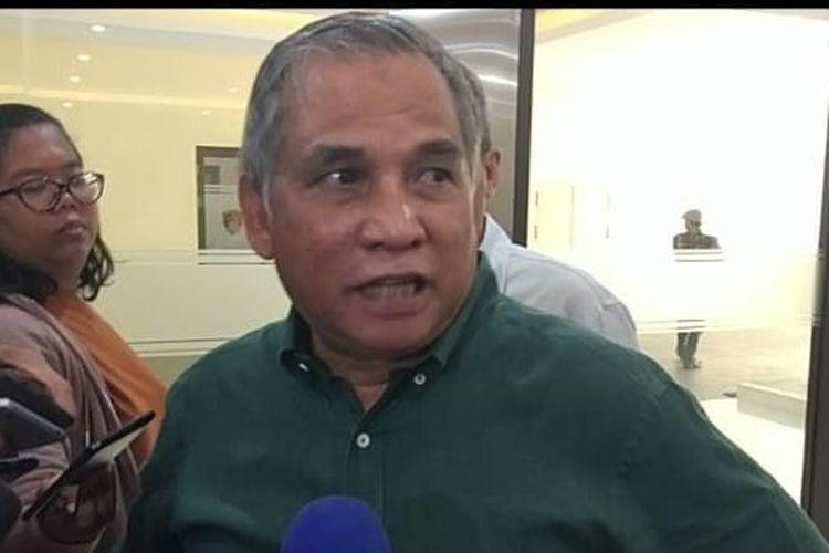 Mantan Komandan Tim Mawar Mayjen TNI (Purn) Chairawan di kantor Bareskrim Polri, Jakarta Selatan, Rabu (12/6/2019).
