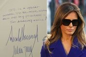 Rahasia Tersembunyi di Balik Tulisan Tangan Istri Donald Trump