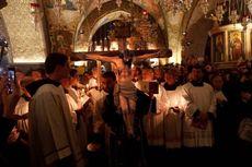 Rayakan Paskah, Warga Kristen Gaza Menanti Izin Israel Masuk Yerusalem