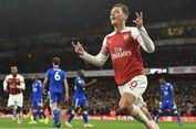 Hasil Arsenal Vs Leicester, 10 Kemenangan Beruntun The Gunners