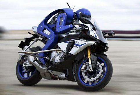 "Tanda-tanda Kehidupan ""Biker"" Robot Yamaha"