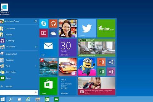Microsoft Siapkan Windows 10 Lean