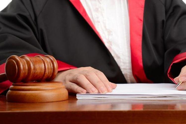 Ilustrasi pengadilan.