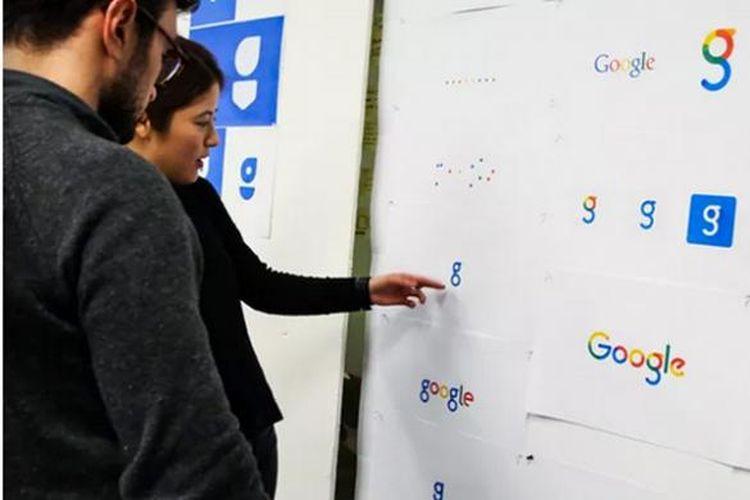 Bermacam Logo baru Google yang dipilih oleh karyawan Google.
