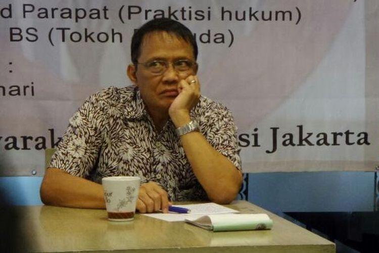 Pengamat politik dari CSIS J. Kristiadi.