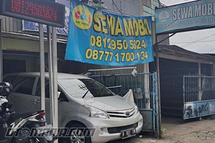 Rental Mobil sewa untuk mudik