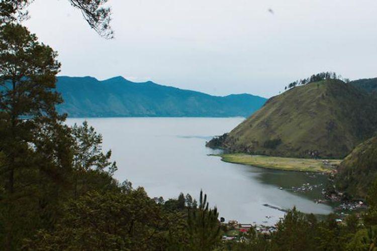 Salah satu lanskap objek wisata Danau Laut Tawar, Takengon, Aceh Tengah.