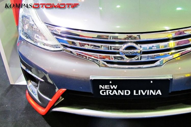 Konsep modifikasi ringan Nissan Grand Livina