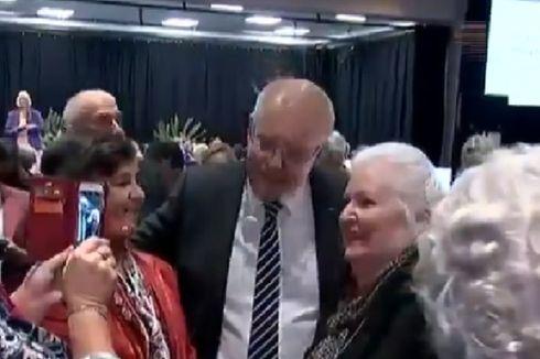 Saat Kampanye, Kepala PM Australia Dilempari Telur