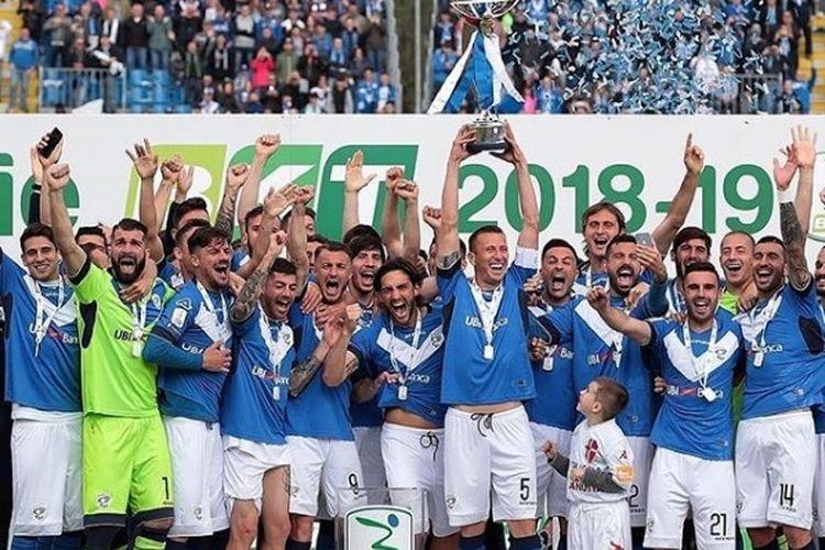 Brescia memastikan gelar Serie B 2018-2019