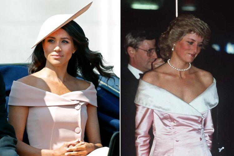 Meghan Markle dan Putri Diana