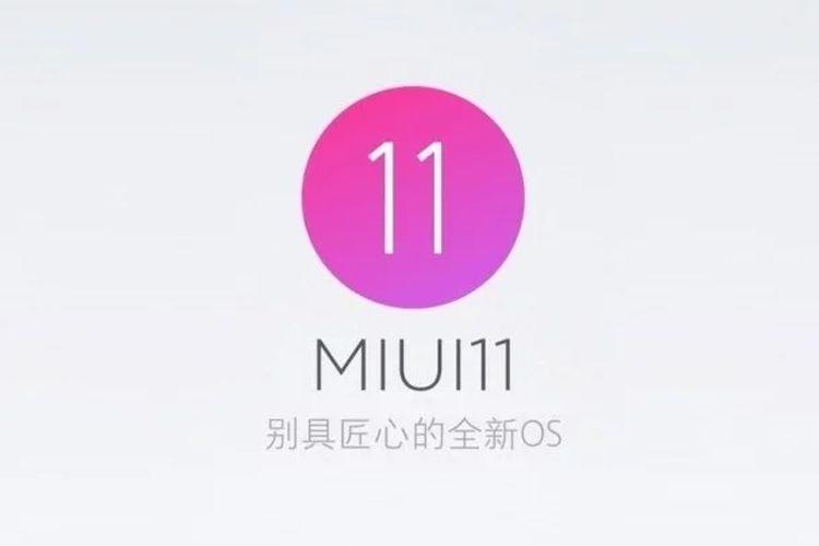Software antarmuka MIUI 11.