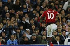 Tottenham Vs Man United, Rashford Bawa Timnya Raih Kemenangan