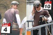 Brad Pitt Pakai Baju yang Sama Berulang, Meniru Zuckeberg?