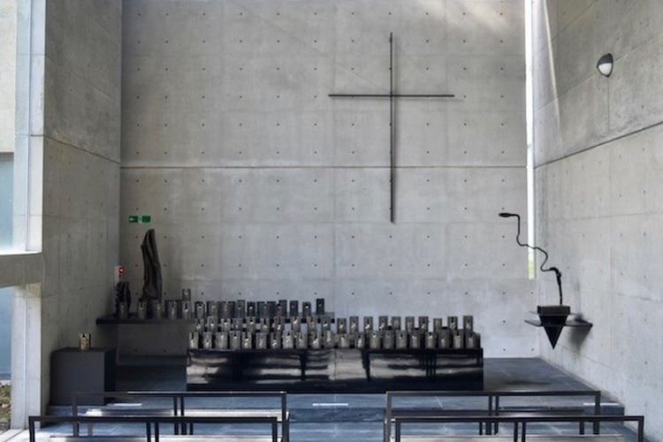"Tadao Ando ""Chapel of the Wind"""