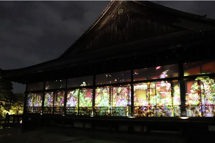 The 25th Anniversary of World Heritage Registration FLOWERS BY NAKED 2019 – Nijo Castle, Kyoto –
