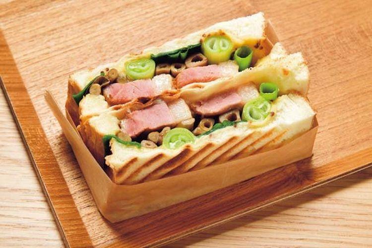Sandwich Kamonegi (00 yen)