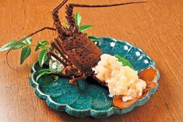 Hidangan Lobster Ise (mulai dari 2.500 yen)