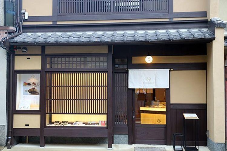 Kyomachiya SAISON DE SETSUKO Kyoto Chocolatery yang telah direnovasi