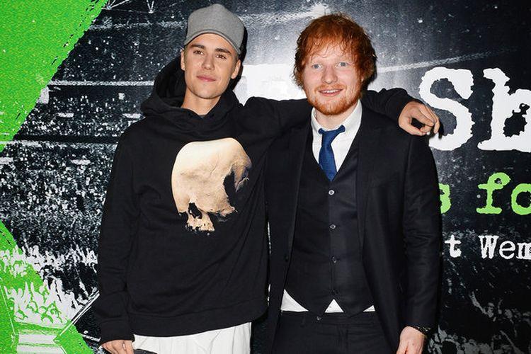 Ed Sheeran dan Justin Bieber akan merilis singel duet terbaru mereka, I Dont Care, pada Jumat pekan ini.