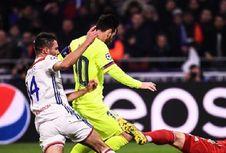 Lyon Vs Barcelona, Messi dkk Gagal Cetak Gol di Kandang Lawan