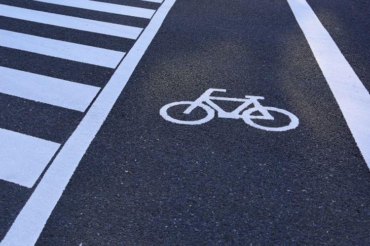 Simbol jalur sepeda