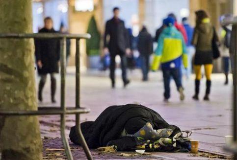 Tidur di Jalanan, Gelandangan di Frankfurt Bakal Kena Denda