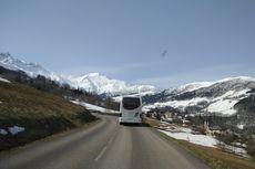 Berita Foto: Panorama Pegunungan Alpen dari Sisi Perancis