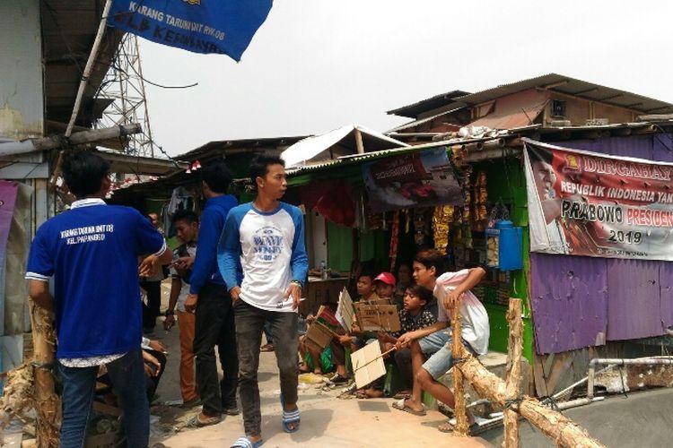 Kampung Kebun Bayam, Papanggo, Tanjung Priok, Jakarta Utara.