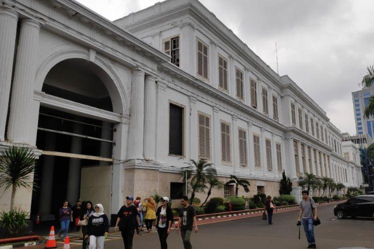 Gedung AA Maramis atau Istana Daendles di Komplek Kementrian Keuangan, Lapangan Banteng, Jakarta Pusat.