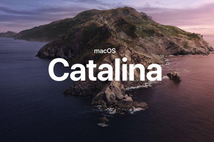Ilustrasi MacOS Catalina.