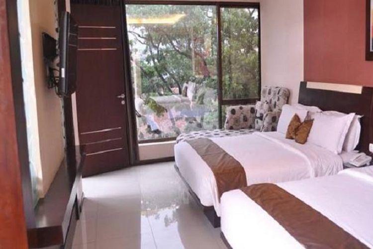 Salah satu jenis kamar di Hotel Scarlet Bandung, Jawa Barat.
