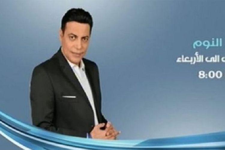 Penyiar televisi Mesir, Mohamed al-Gheyti.