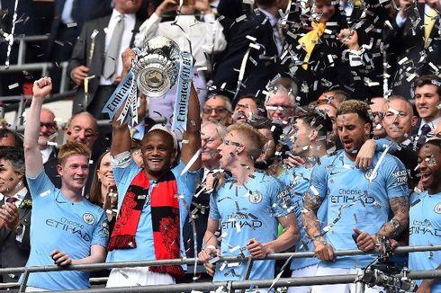 Man City Vs Watford, Menang 6 Gol, The Citizens Juara Piala FA 2019