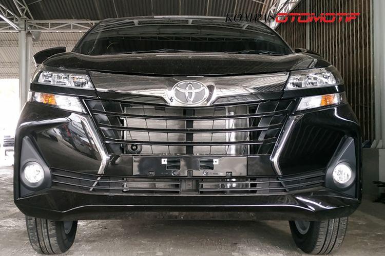 Tampilan Toyota Avanza facelift