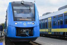 Kereta Bertenaga Hidrogen Pertama Dunia Meluncur di Jerman