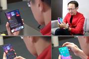 Pendiri Xiaomi Pamer Ponsel Lipat Bikinan Perusahaannya