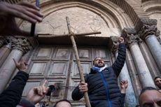 Tutup karena Protes Pajak, Gereja Makam Yesus di Israel Kembali Dibuka