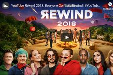 YouTube Rewind 2018 Catat Rekor