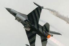 Jet Tempur F-16 Belanda Tertembak Pelurunya Sendiri