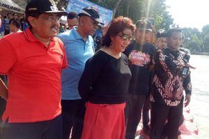 Tinjau Danau Sunter, Menteri Susi Bilang 'Ini Kerja Wali Kota, Tidak Ada Bau'