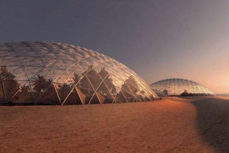 Kubah Mars di UAE dimaksudkan sebagai gladi resik untuk menumbuhkan makanan di Mars itu sendiri.