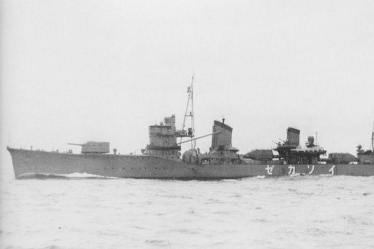 Inilah Isokaze, kapal penghancur yang pernah berpartisipasi dalam serangan mendadak Jepang ke Pelabuhan Pearl Harbor 7 Desember 1941, dan menyeret Amerika Serikat ke dalam Perang Dunia II