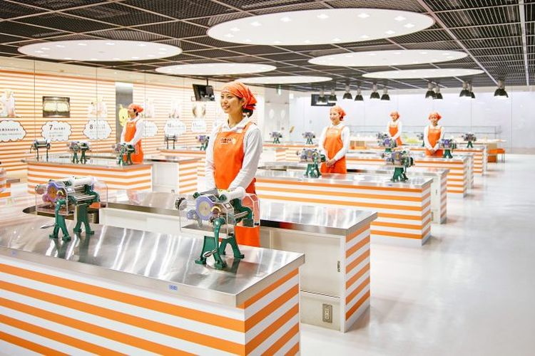 Chicken Ramen Factory di Cup Noodles Factory