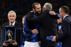 Giorgio Chiellini Catatkan Penampilan ke-100 Bersama Timnas Italia
