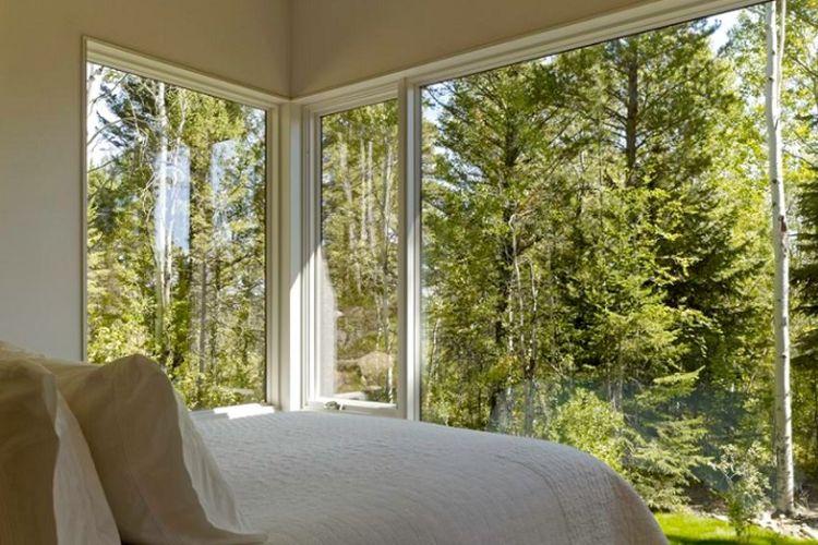 Ilustrasi jendela kamar