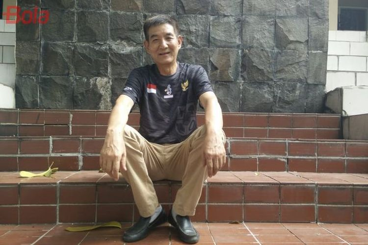 Pelatih baru timnas bola voli putra Indonesia, Li Qiujiang.
