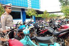 Di Jombang, Ratusan Motor Modifikasi Disita Polisi Jelang Tahun Baru