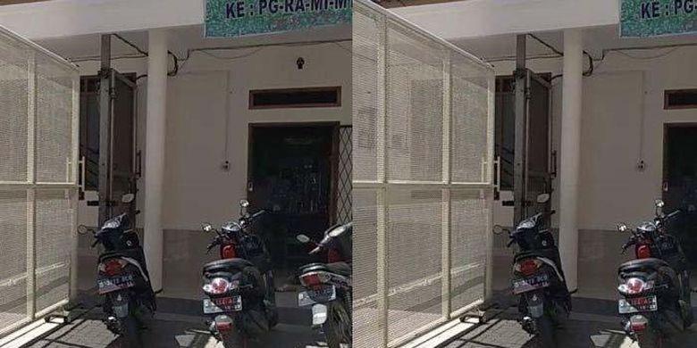 Nasib pilu Syakira anak TK di Bandung yang terjepit gerbang sekolah. (Tribun Jabar)